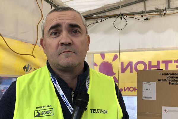 Claude Fouillet est bénévole au Téléthon depuis 15 ans.