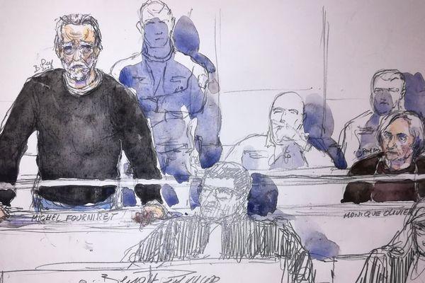Michel Fourniret comparait devant la cour d'assises des Yvelines, à Versailles, pour l'assassinat de Farida Hammiche.