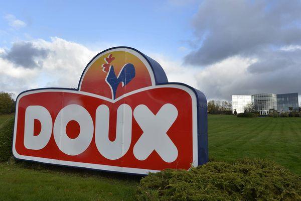 Le siège du groupe Doux à Châteaulin