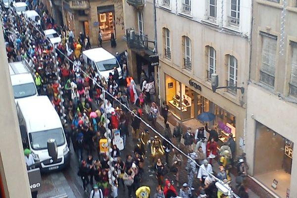 PèreCent à Metz le 12 mars 2013. Photo d'Emilie pour France 3 Lorraine.