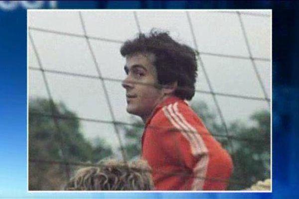Michel Platini en 1976 sous les couleurs de l'AS Nancy Lorraine