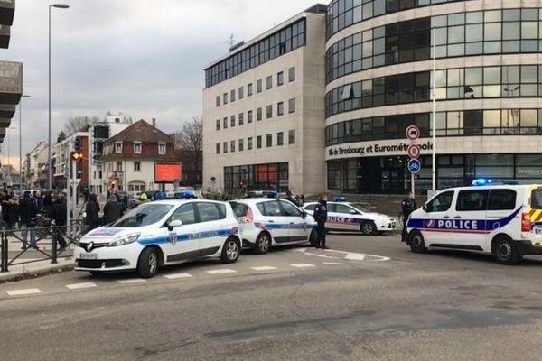 Une nouvelle opération de police s'est déroulée ce jeudi après-midi dans le quartier du Neudorf à Strasbourg.