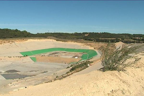 Le site de stockage des déchets industriels de Bellegarde (Gard)