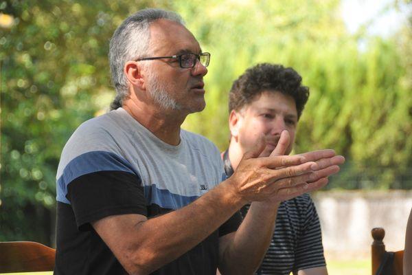Joël Breton, directeur de l'association culturelle du Rouillacais, s'occupe depuis 1997 de la programmation de La Palène, à Rouillac, en Charente.