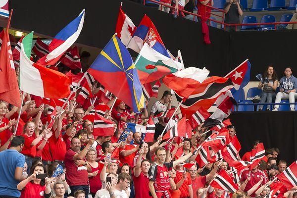 Plusieurs centaines de supporters chaumontais avaient fait le déplacement au stade Pierre de Coubertin.