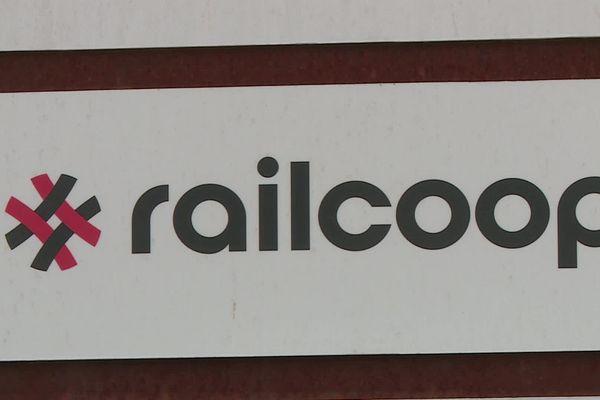 Le logo de Railcoop, coopérative ferroviaire qui compte désormais plus de 7 000 sociétaires.