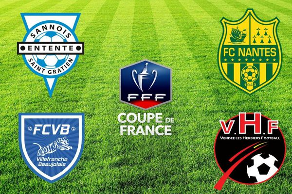 16e finale de la Coupe de France de football pour le FC Nantes et Les Herbiers