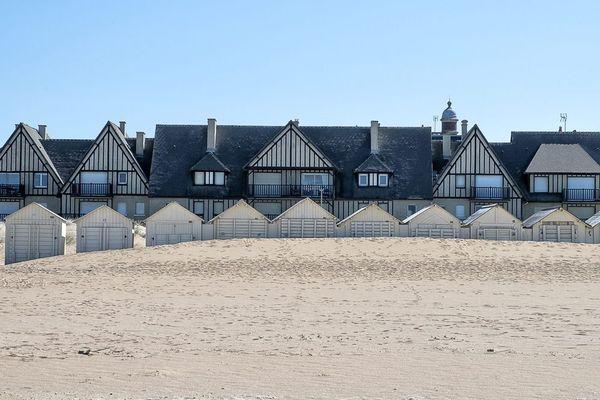 La plage de Ouistreham