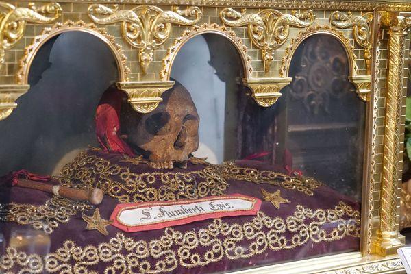 Les reliques de saint Humbert