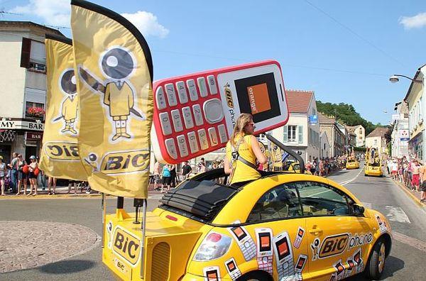 La caravane du Tour de France en 2013