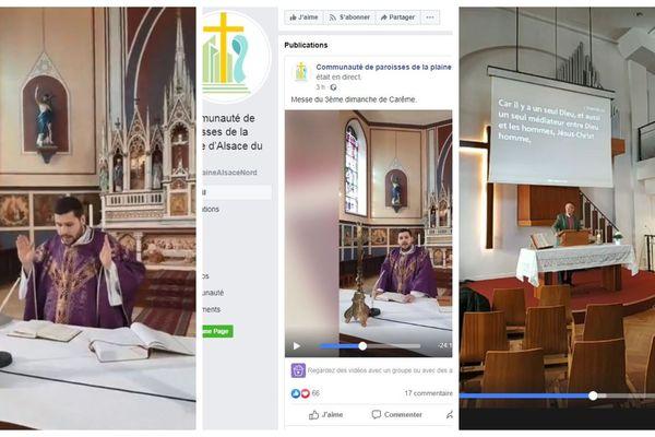 Messes en direct sur Facebook, un curé catholique et un pasteur méthodiste de Strasbourg se sont lancés dimanche 15 mars 2020