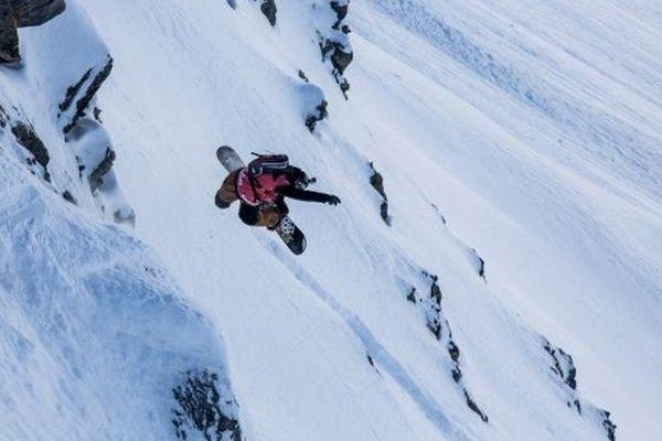 Sammy Luebke, Snowboard
