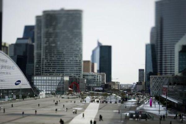 Le quartier de La Défense à Paris (Photo d'illustration).