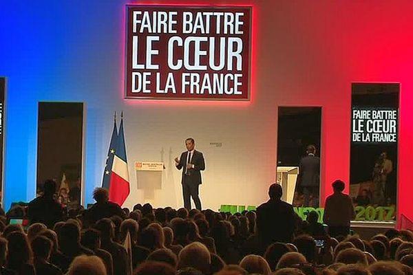 Montpellier - Benoît Hamon en meeting au parc des expositions - 30 mars 2017.