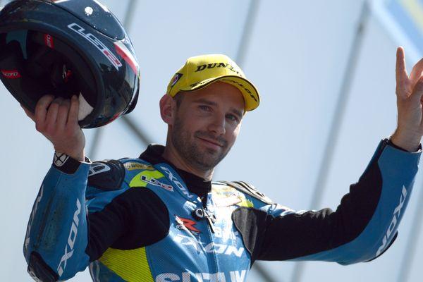 Anthony Delhalle, sacré cinq fois champion du monde d'endurance