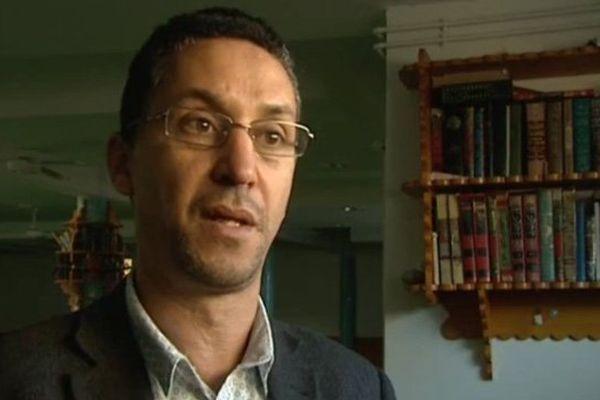 Mohammed Karabila, président du Conseil régional du culte musulman de Haute-Normandie, en charge de la mosquée de Saint-Etienne-du-Rouvray