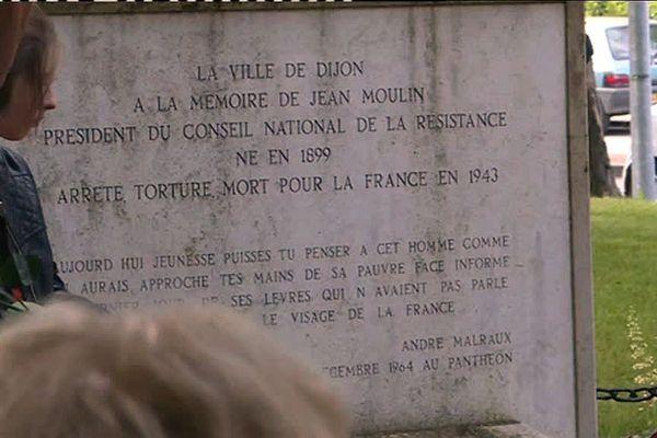 Le mémorial Jean Moulin à Dijon