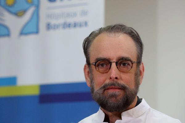 Le professeur Denis Malvy, infectiologue au CHU de Bordeaux. Il est en pointe dans la crise sanitaire liée au coronavirus et membre du conseil scientifique national.