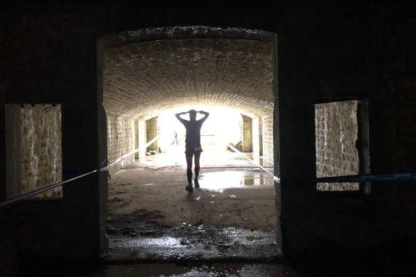 Passage au fort de Fontain du Trail des forts de Besançon