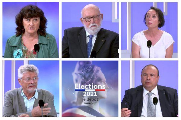 Les candidats aux élections départementales du canton de Garéoult dans le Var.