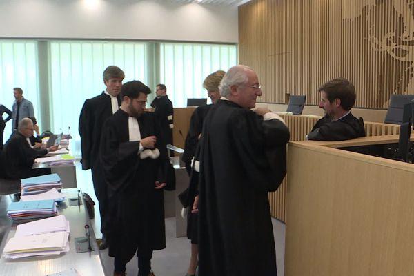 """Une trentaine d'avocats ont plaidé au cours de cette affaire hors-norme de la """"Peronne Cup""""."""