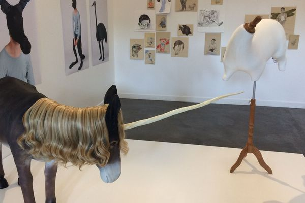 """Exposition """"Formes d'histoires"""" aux Tanneries d'Amilly (45)"""