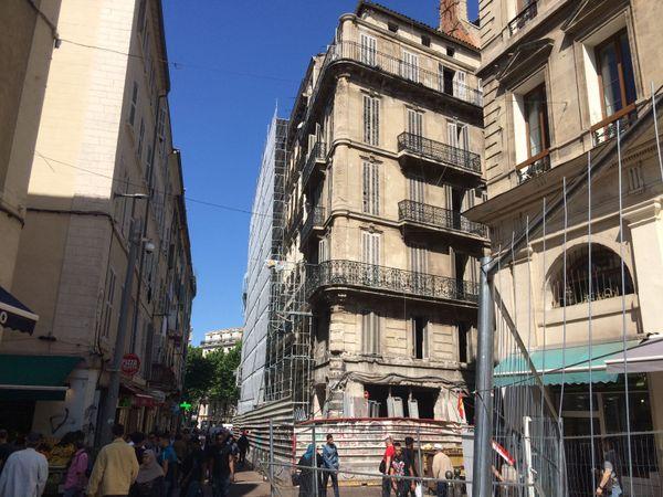 A Noailles, les travaux de rénovation de l'hôtel se poursuivent. L'ouverture est prévue en printemps 2019
