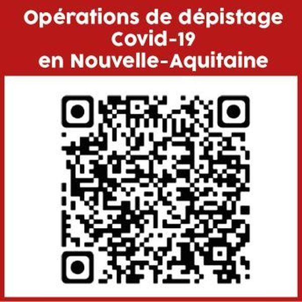Le QR Code pour avoir plus d'information sur cette campagne de dépistage gratuite