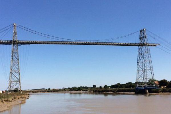 Le pont transbordeur de Rochefort.