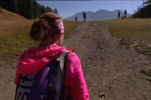 Corinne participe à son premier UTMB, trois ans après avoir commencé le trail.