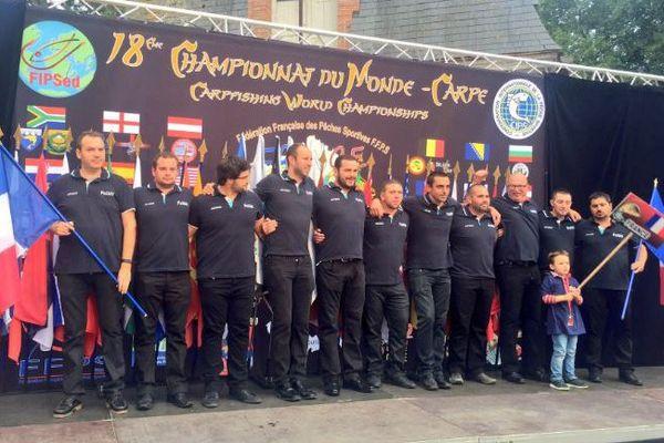L'équipe de France de pêche à la carpe tentera de succéder à l'Angleterre, championne du monde en 2015