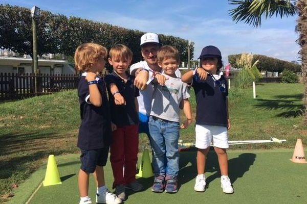 Les enfants ont repris les cours au club du golf du bois de Boulogne