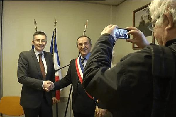 Le premier conseil municipal de la nouvelle commune, issue de la fusion d'Audierne et d'Esquibien