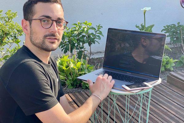 Sylvain Payet, installé à Saint-Quentin, vient de créer l'application Maracas.
