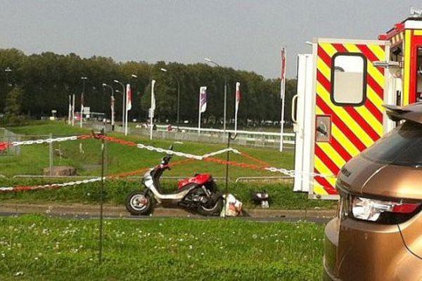 L'accident s'est produit à Caen le 6 septembre 2014