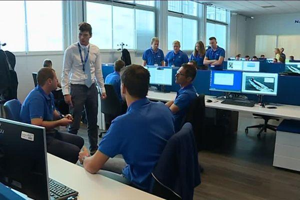 La première promotion de futurs techniciens concepteurs de navire a débuté les cours chez Naval Group le 3 septembre dernier