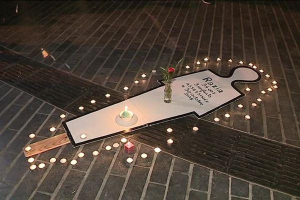 Razia avait 34 ans. Tuée en pleine rue à Besançon. Son mari suspect numéro 1 est en fuite.