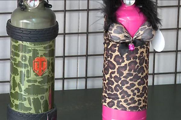 L'extincteur militaire ou l'extincteur cagole si vous voulez éteindre le feu.
