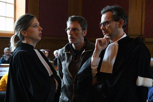 Maître Baro, Christian Bouchon et maître Juillard.