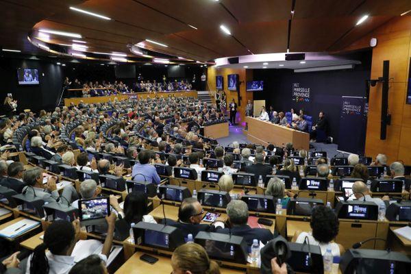 L'élection à la présidence de la métropole Aix-Marseille-Provence en 2018.