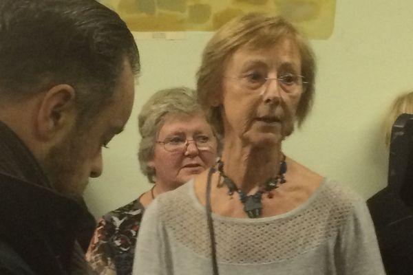 Catherine Millet, ce dimanche soir, première adjointe démissionnaire, briguera le mandat de maire d'Etretat