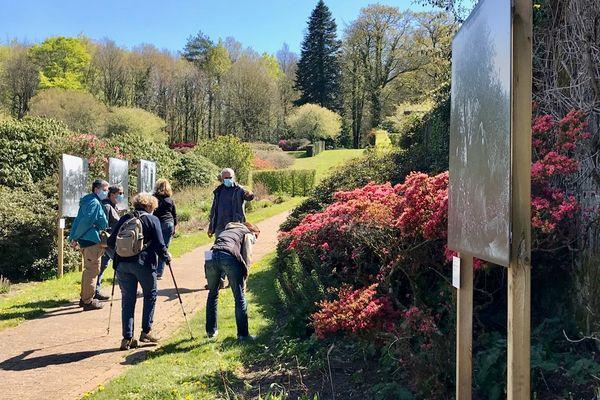 Les visiteurs sont venus nombreux profiter des jardins de Trévarez