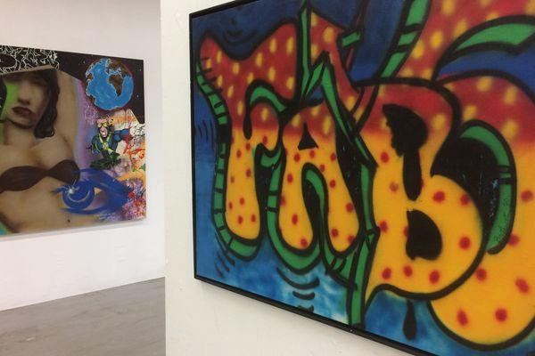 L'Aérosol, à Paris, un musée éphémère dédié au graff et au street art.