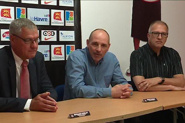 Hervé Coudray vient de signer pour trois ans au Saint-Thomas Basket Le Havre
