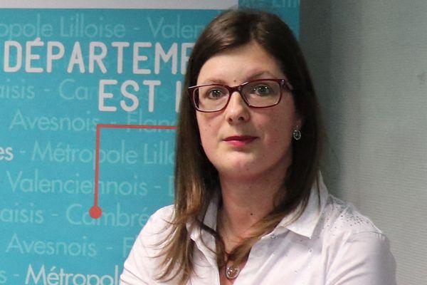 Doriane Bécue remplace Gérald Darmanin en tant que maire de Tourcoing (photo archive du 12 mars 2019).