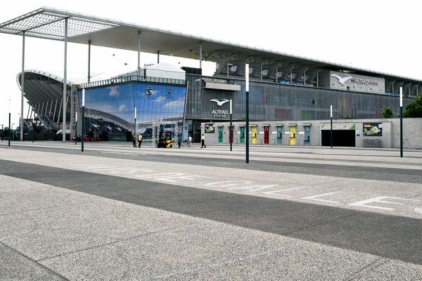Le stadium de Montpellier  toujours à l'arrêt