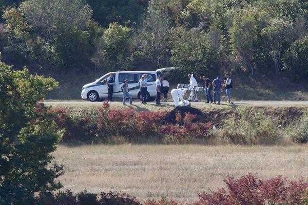 Le 24 septembre 2017, au petit matin, les pompiers ont découvert le corps calciné de Myriam Fedou Bonsirven, en bordure de la départementale 221, entre Roullens et Lavalette dans l'Aude.