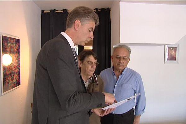 Eric Vève, candidat PS aux législatives à Caen qui se revendique de la majorité présidentielle
