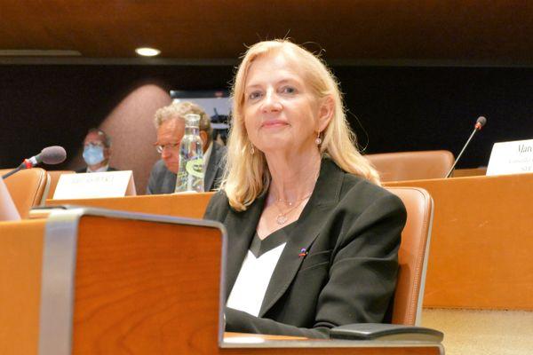 Pia Imbs est la nouvelle présidente de l'Eurométropole de Strasbourg, qu'elle dirigera pendant six ans.