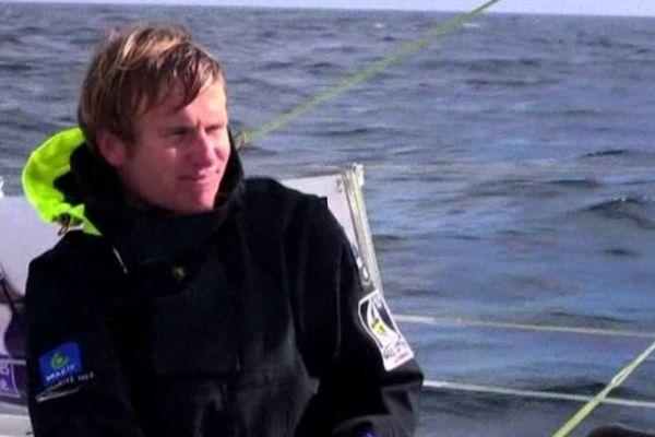François Gabart dans les Mers du Sud